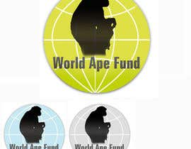 #9 para Design a logo for the not-for-profit World Ape Fund por estela51