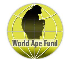 #10 para Design a logo for the not-for-profit World Ape Fund por estela51