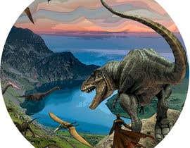 r3dcolor tarafından Design a Dinosaur Land T-Shirt için no 11