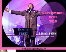 Nro 34 kilpailuun Freedom Concert Flyer - September 2016 käyttäjältä Tamara2016