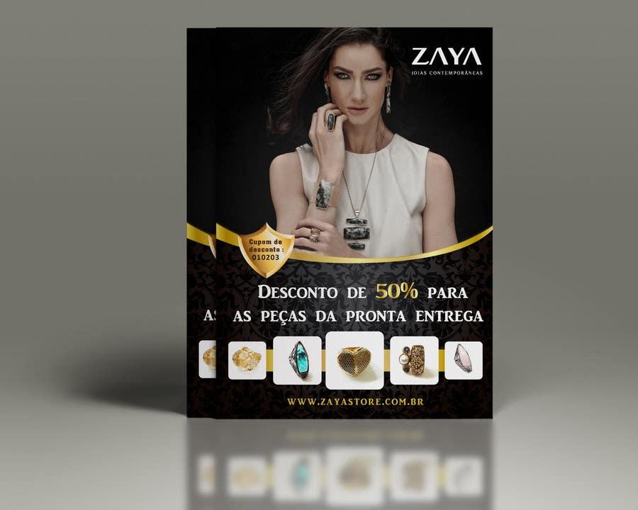 Contest Entry #                                        21                                      for                                         Flyer Zaya