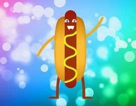 Nro 5 kilpailuun Design a hotdog party greeting card käyttäjältä asharsarsour