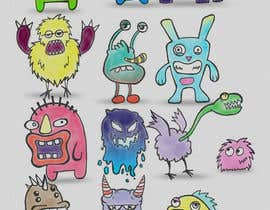 #36 for Create monster drawings for mobile game by LucasScala