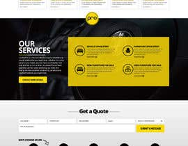nikil02an tarafından Re-design a website (Landing page for home and content pages) için no 83