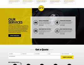 nikil02an tarafından Re-design a website (Landing page for home and content pages) için no 84