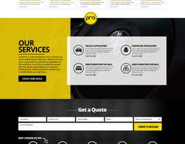 nikil02an tarafından Re-design a website (Landing page for home and content pages) için no 85