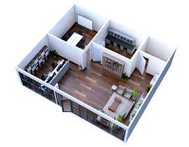 Hieart tarafından Interior Design for the Start Up Office için no 7