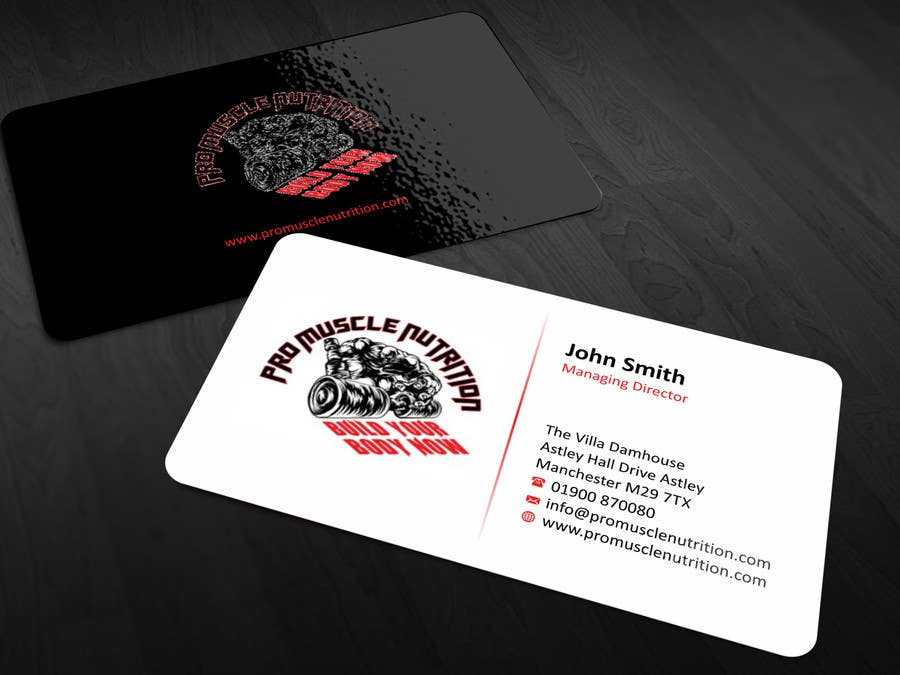 Entry #9 by ezesol for Design some Business Cards for a Supplement ...