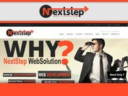 Design a Logo for Next Step Web Solution için Graphic Design30 No.lu Yarışma Girdisi