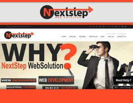 #30 para Design a Logo for Next Step Web Solution por KevinChoiKang