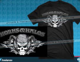 #18 cho Design a T-Shirt, HAT AND BANDANAS for BIKERS bởi artist78