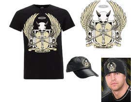 #12 para Design a T-Shirt, HAT AND BANDANAS for BIKERS por japinligata