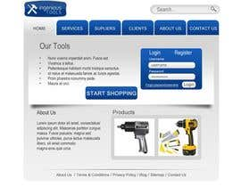#11 za Website Design for Ingenious Tools od dasilva1