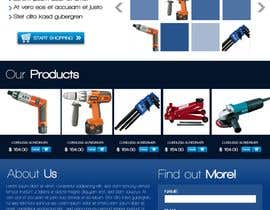 #31 para Website Design for Ingenious Tools por melsdqueen