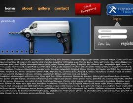 #14 για Website Design for Ingenious Tools από apixelhouse