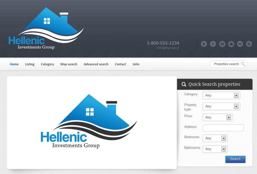 Konkurrenceindlæg #75 for Design a Logo for real estate website header