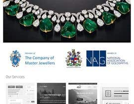 #8 untuk Website design for a jewellers - Please read the brief. oleh sanjaydungarwal