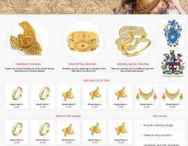 #10 for Website design for a jewellers - Please read the brief. af poujulameen