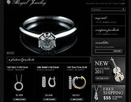 #17 untuk Website design for a jewellers - Please read the brief. oleh Mizanurahman1