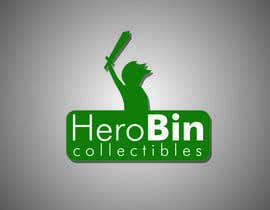 nº 1 pour Design a Logo for Hero Bin Collectibles par juliannastaro