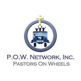 Graphic Design Contest Entry #7 for P.O.W. [Pastors On Wheels]