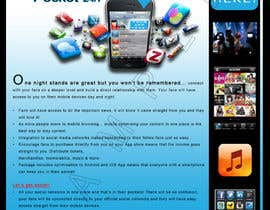 #16 para Create Flyer / Fact sheet for Fan Apps por aaronn99