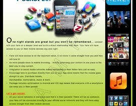 #17 para Create Flyer / Fact sheet for Fan Apps por aaronn99