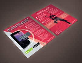 #8 for Create Flyer / Fact sheet for Fan Apps by rimskik