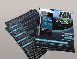 #9 for Create Flyer / Fact sheet for Fan Apps by DepartmentM