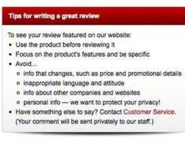 nº 8 pour customer feedback writing par JeevanKoju