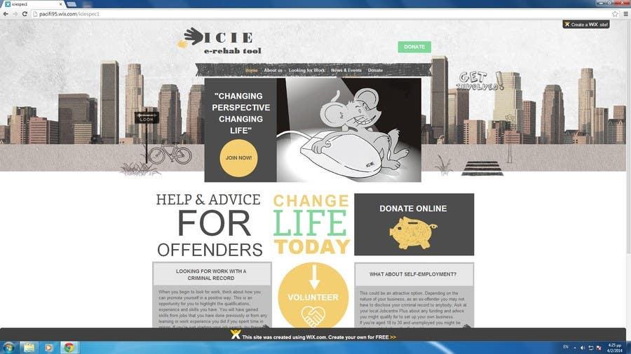 Konkurrenceindlæg #4 for Build a Website for ICIE.biz intercity internet entrepreneurs