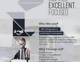 Nro 4 kilpailuun Design a Brochure for a Logistics Company käyttäjältä Kuzmanovic