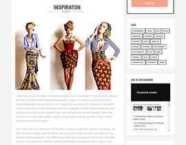 rajeev2005 tarafından Fashion Blog Template için no 14
