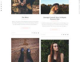 mazcrwe7 tarafından Fashion Blog Template için no 15