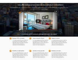 nº 10 pour Real Estate Service - NEW Landing Pages par webidea12