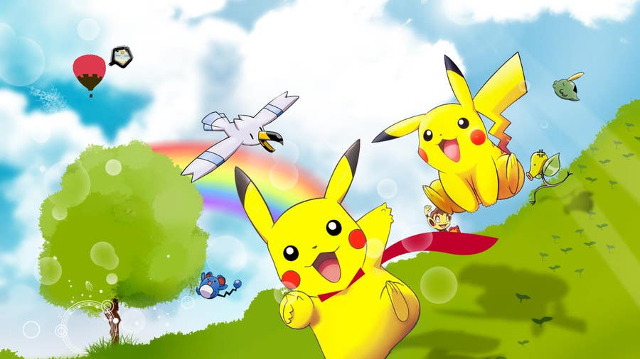 Kilpailutyö #4 kilpailussa I need 50 Pokemon Wallpapers