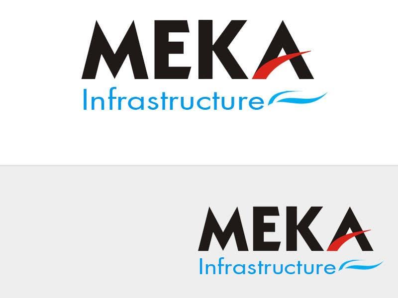 Proposition n°11 du concours Logo Design for Meka Infra