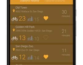 Nro 24 kilpailuun Bike-Sharing System App käyttäjältä nihalnova