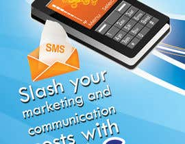 nº 9 pour Brochure Design for SMS Broadcast par creationz2011
