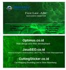 Graphic Design Contest Entry #11 for Business Card and Stationary for Optimus Putra Mandiri