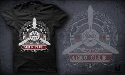 ultraspike tarafından T-Shirt Graphic Design project for Aero Club için no 35