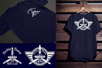 xpressivegil tarafından T-Shirt Graphic Design project for Aero Club için no 9