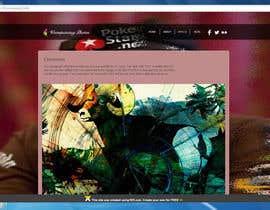 nº 6 pour webdesign minimalist blog par pacific1