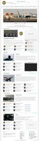 Konkurrenceindlæg #                                                19                                              billede for                                                 Website Design for IAF Review