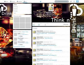 #12 para Design a Twitter background for Professional Group por dalizon