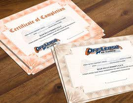 #51 para Design a Certificate of Completion For Dog Training Business por xahe36vw