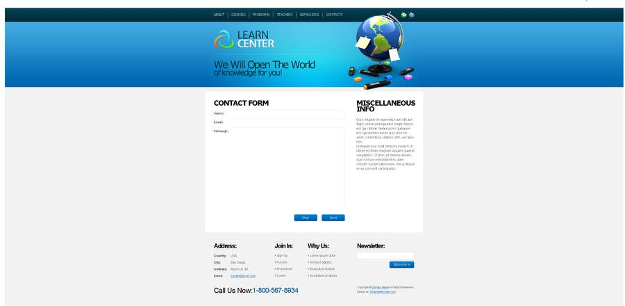 Konkurrenceindlæg #                                        21                                      for                                         Skpey Website - This is a test website! Please do not bid!