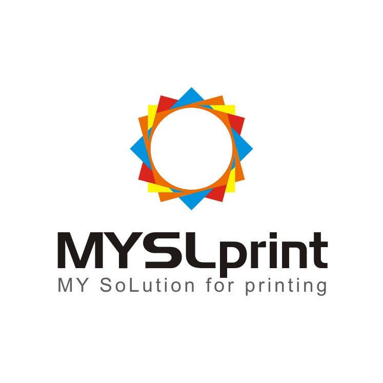 """Bài tham dự cuộc thi #12 cho Design a Logo for PRINTING company """"MYSLprint"""""""