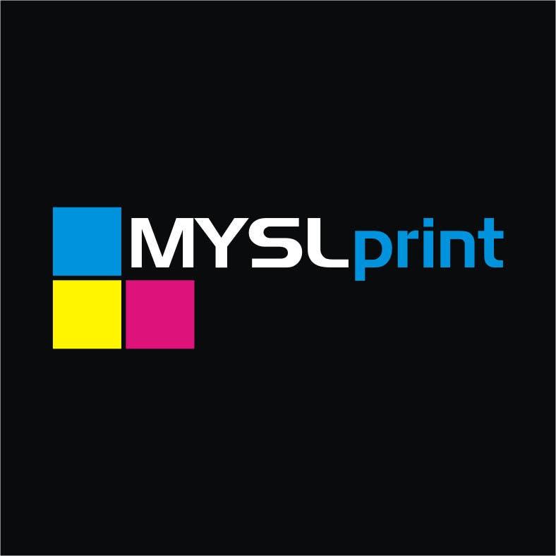 """Bài tham dự cuộc thi #20 cho Design a Logo for PRINTING company """"MYSLprint"""""""