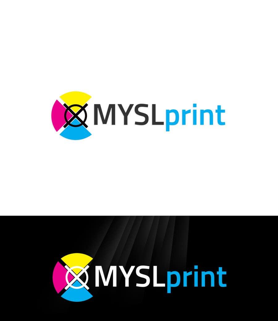 """Bài tham dự cuộc thi #21 cho Design a Logo for PRINTING company """"MYSLprint"""""""